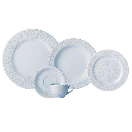 Aparelho de Jantar e Chá 30 peças - Guaporé - Porcelana Schmidt