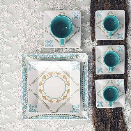 Aparelho de Jantar 20 peças - Quartier Domo - Oxford Porcelanas