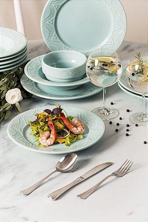 Aparelho de Jantar e Chá 30 peças - Serena Essence - Oxford Porcelanas