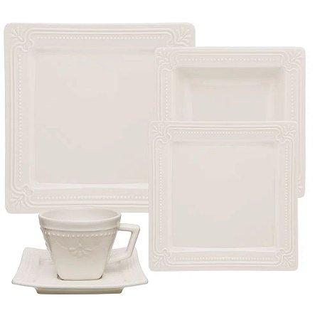 Aparelho de Jantar 20 peças - Provence Brulee - Oxford Porcelanas