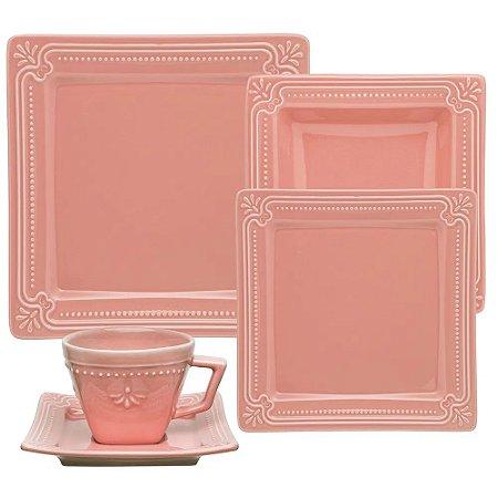 Aparelho de Jantar e Chá 20 peças - Provence Vintage - Oxford Porcelanas