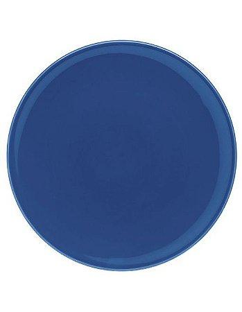 Conjunto 4 Pratos Rasos Unni Blue - 26cm - Oxford Porcelanas