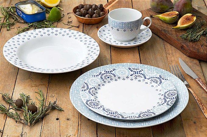 Aparelho de Jantar, Chá e Café 42 peças - Lisboa - Germer Porcelanas