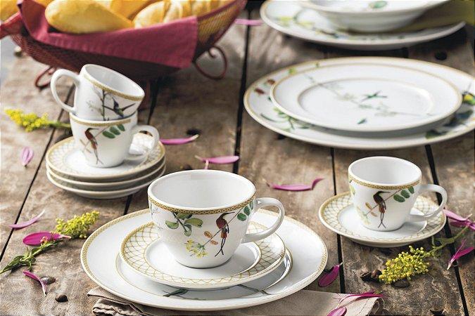Aparelho de Jantar e Chá 30 peças - Bela Fauna - Germer Porcelanas