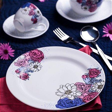 Aparelho de Jantar e Chá 20 peças - Frida - Germer Porcelanas
