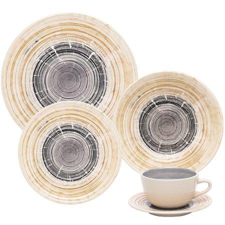 Aparelho de Jantar e Chá 30 peças - Puzzling - Oxford Porcelanas