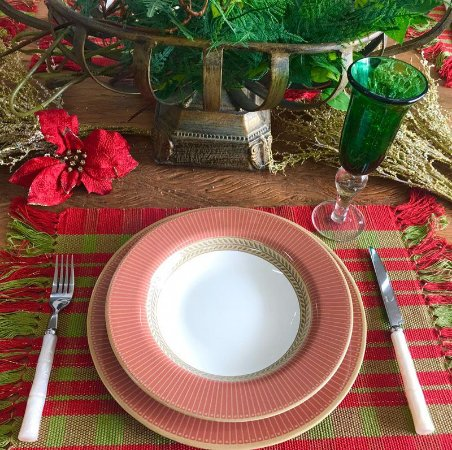 Aparelho de Jantar e Chá 20 peças - Celebrate Vermelho - Alleanza Cerâmica