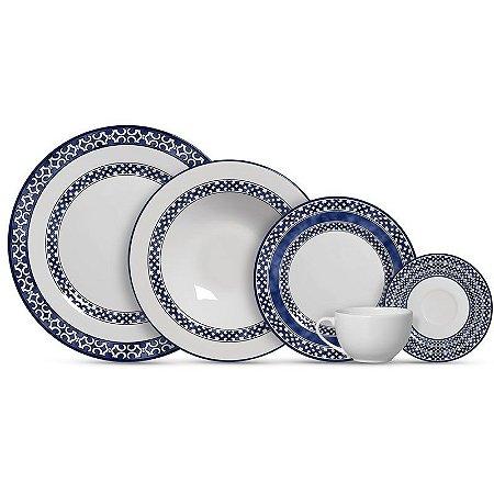 Aparelho de Jantar e Chá 20 peças - Capri - Alleanza Cerâmica