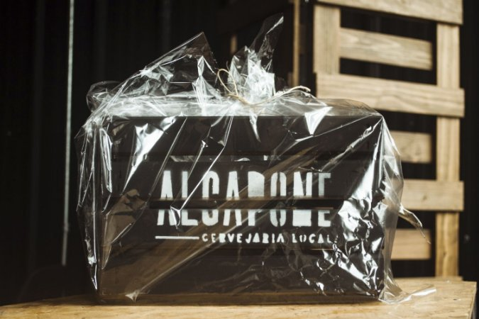 Caixa de madeira Al Capone