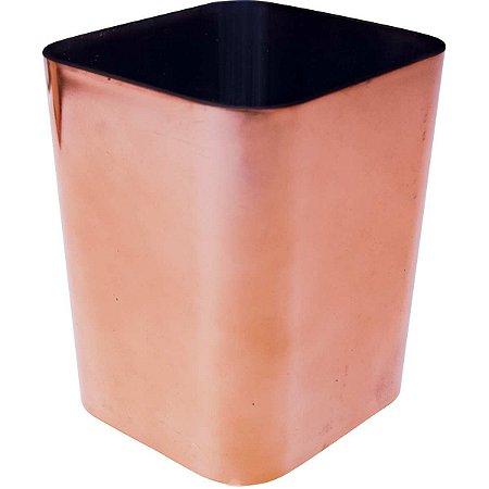 Acessório Para Mesa Porta Objetos Metalizado Rose Dello