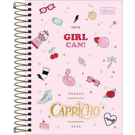 Agenda Tilibra 2021 Capricho Cd. 176Fls. Tilibra