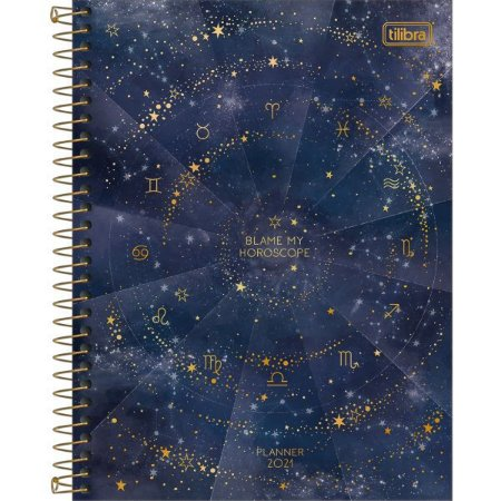 Agenda Tilibra 2021 Magic Planner Cd. 80Fls. Tilibra