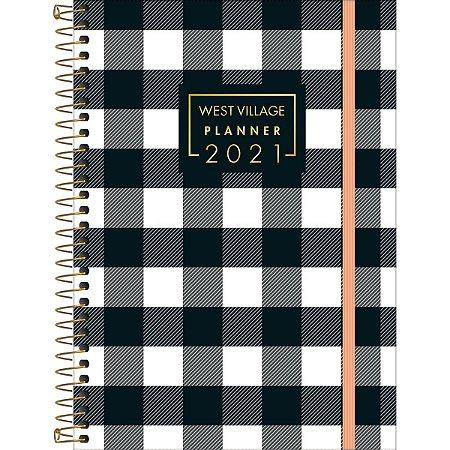 Agenda Tilibra 2021 West Village Planner Cd 80Fls Tilibra
