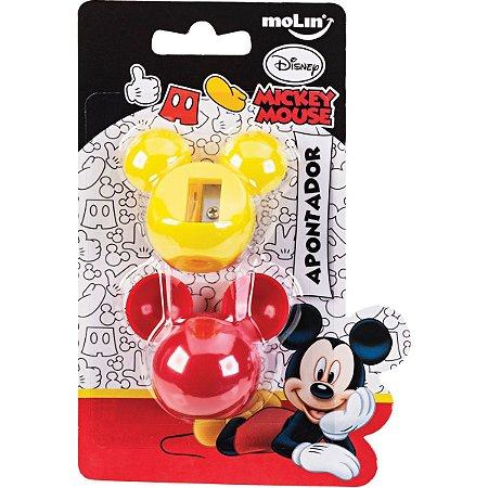 Apontador Sem Depósito Mickey Face Molin