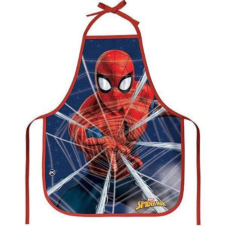 Avental Escolar Decorado Spider-Man Dac