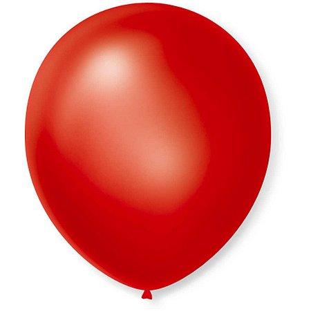 Balão Cintilante N.070 Vermelho São Roque