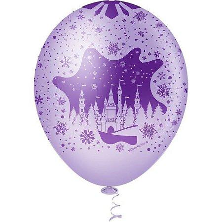 Balão Decorado N.010 Castelo De Neve Sortido Riberball