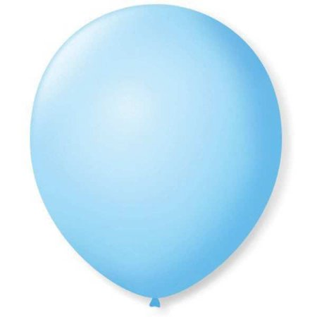 Balão Imperial N.070 Azul Baby São Roque