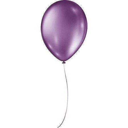 Balão Metalizado N.090 Roxo São Roque