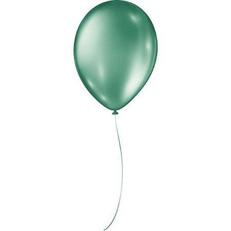 Balão Metalizado N.090 Verde São Roque