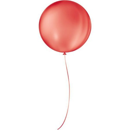 Balão Para Decoração Redondo N.05 Vermelho Quente São Roque