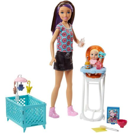 Barbie Family Playset Baba Mattel