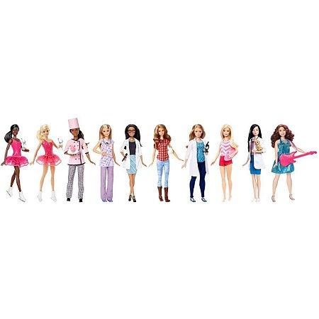 Barbie Profissões Sortidas Mattel