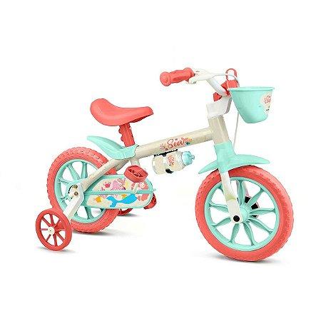 Bicicleta Aro 12 Sea Feminina Nathor