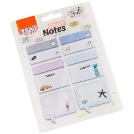Bloco De Recado Autoadesivo Smart Notes Call Up Verao 25F. Brw
