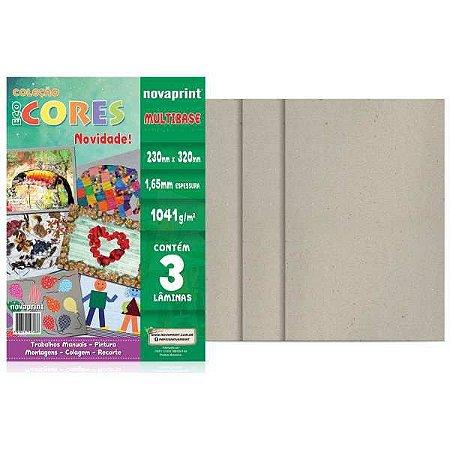 Bloco Para Educação Artística Multibase 1041Gr.3F 32X23Cm Novaprint