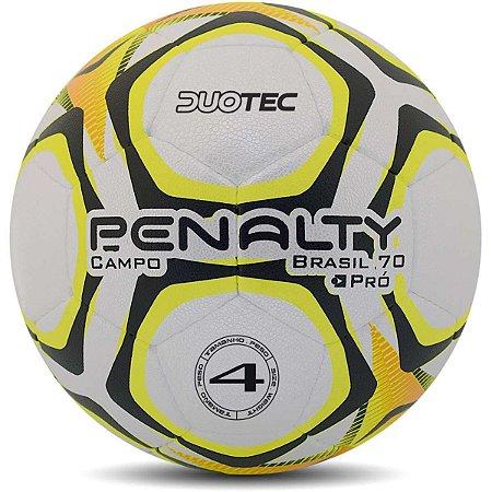 Bola De Futebol De Campo Brasil 70 N°4 Bc-Am-Pt Penalty