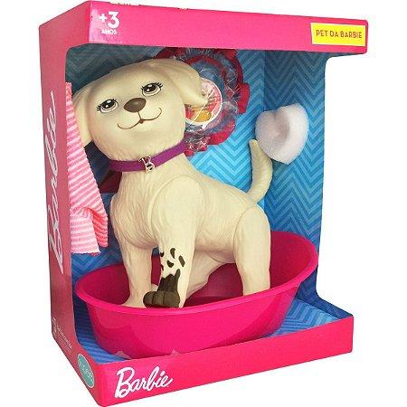 Boneca Barbie Pet Shop Da Honey Pupee Brinquedos