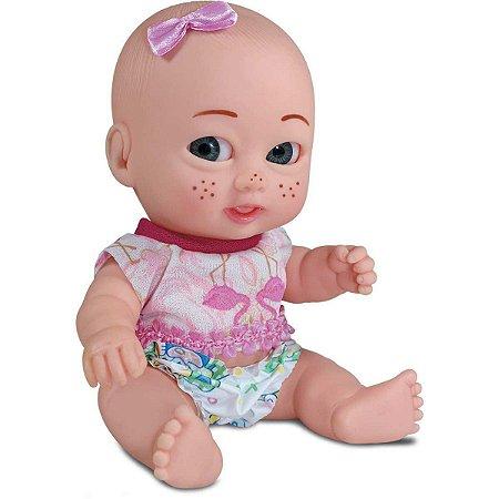 Boneca Meninekas Irmazinhas 21,5Cm. Sid-Nyl