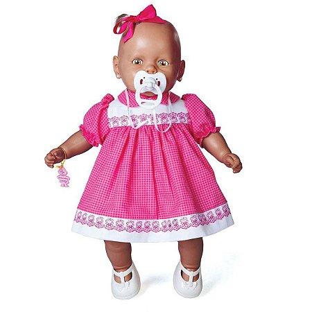 Boneca Nenezinho Negro Assort.3 44Cm Estrela