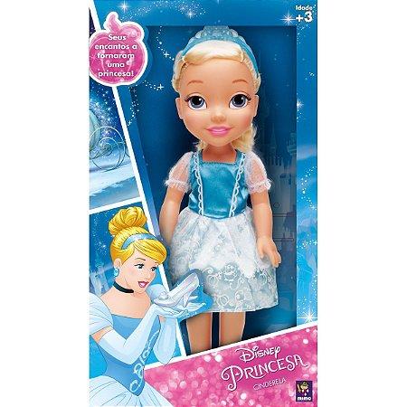 Boneca Princesa Cinderela Real Mimo