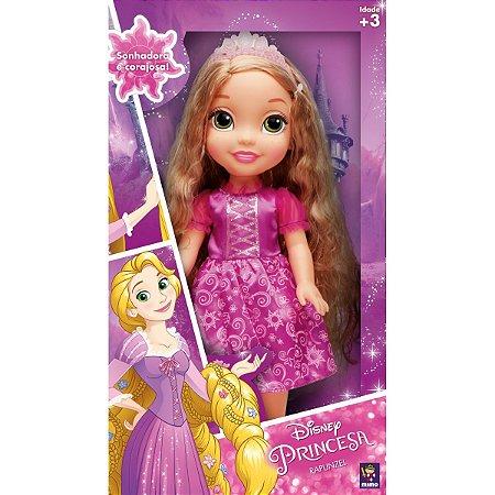 Boneca Princesa Rapunzel Real Mimo