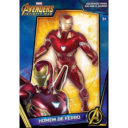 Boneco E Personagem Homem De Ferro Avengers Infini Mimo