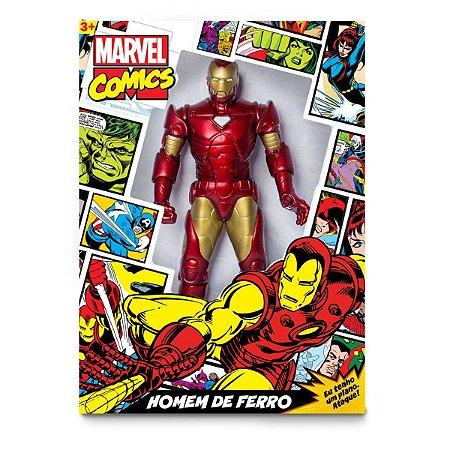 Boneco E Personagem Homem De Ferro Comics 50Cm. Mimo
