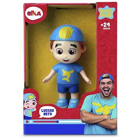Boneco E Personagem Luccas Neto 15Cm. Elka