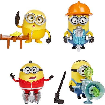 Boneco E Personagem Minions Barulhentos Bagunceiro Mattel