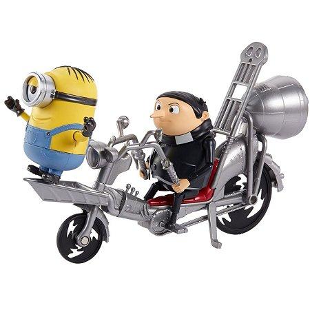 Boneco E Personagem Minions Conjunto Aventura Sort Mattel