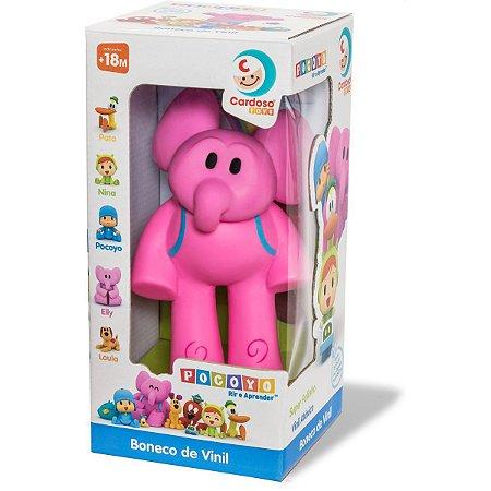 Boneco E Personagem Pocoyo Elly 13Cm Vinil Cardoso Toys