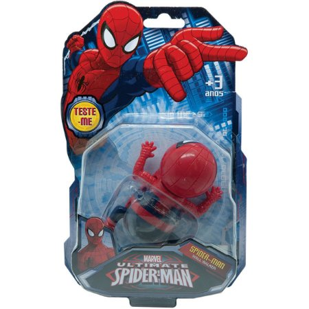 Boneco E Personagem Spider-Man Wall Walker Desliza Candide