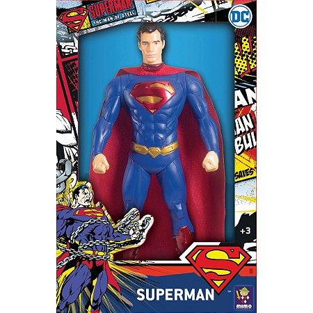 Boneco E Personagem Superman Clássico 45Cm. Mimo