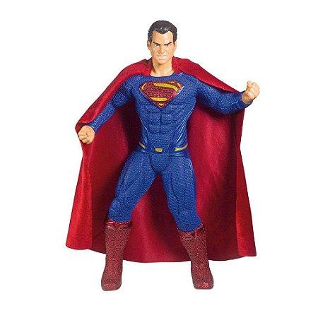 Boneco E Personagem Superman Liga Da Justiça 50Cm Mimo
