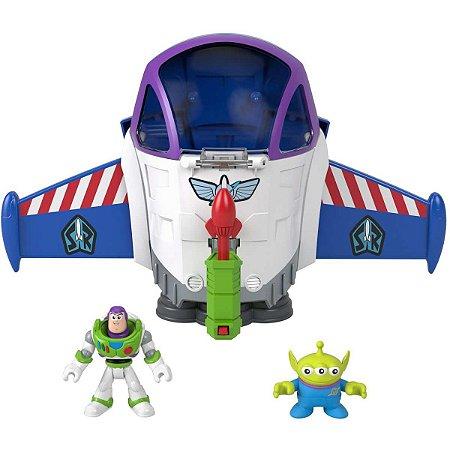 Boneco E Personagem Toy Story Buzz Missao Espacial Mattel