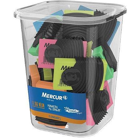 Borracha Colorida Tr Neon Big Capa Plástica Mercur