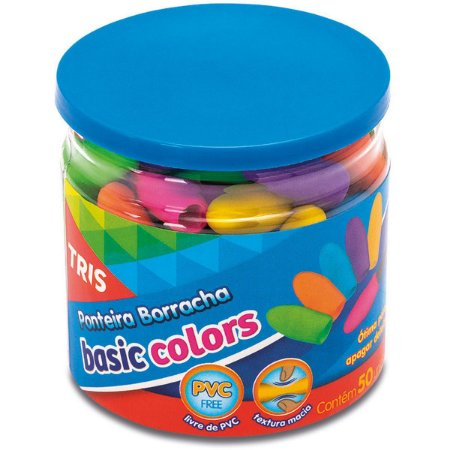 Borracha Ponteira Tris Basic Colors Neon Summit