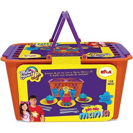 Brincando De Casinha Maria Clara E Jp Pic Nic Mania Elka