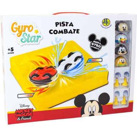 Brinquedo Diverso Disney/pixar Gyro Star Pista C Dtc